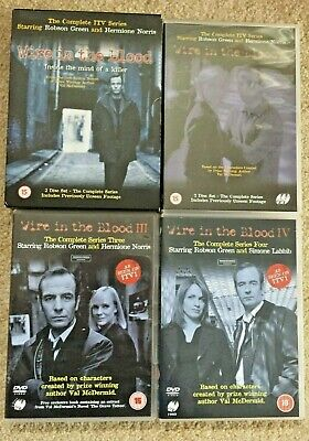 £7.99 • Buy Wire In The Blood Series 1-4(DVD)