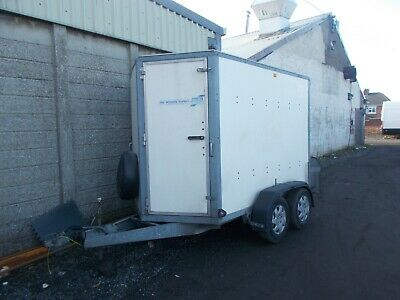 Ifor Williams Bv85 G Tow Van Box Trailer Load Lugger No Reserve Bargain • 989.69£