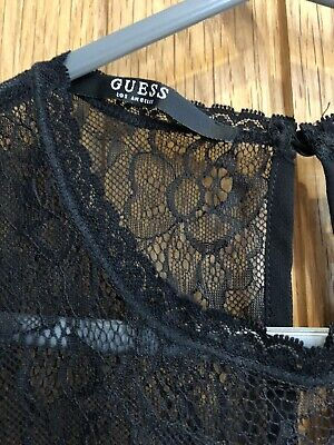 £14 • Buy Authentic Guess Blouse In Black Size S