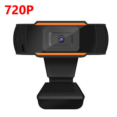 $ CDN13.40 • Buy HD Webcam 720p USB Rotatable Video Record Web Camera With Mic For PC Computer 6