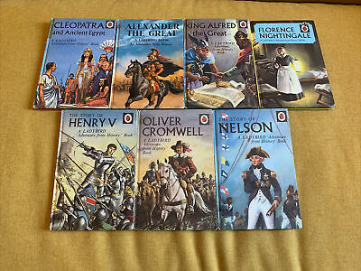 Ladybird Adventure From History Books - Bundle / Job Lot Of 7 Books • 1£