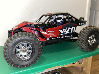 Axial Yeti XL RTR Brushless 1/8 OFF-ROAD Buggy Super Clean And LOW USE! • 411.27£