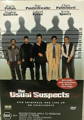 AU12.45 • Buy The Usual Suspects : Kevin Spacey :  New Old Aus Stock : NEW DVD