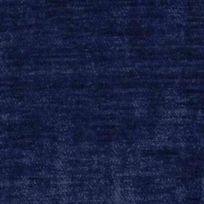 Voyage Mimosa Velvet Furnishing Fabric Indigo W140cm - Sold By The Meter • 20£