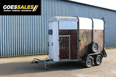 Ifor Williams Horse Box 505r Trailer - Project - Bar - Catering - Office • 1,100£