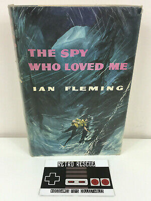 The Spy Who Loved Me Ian Fleming Hardback 1962 Book James Bond 1st First Edition • 17.99£