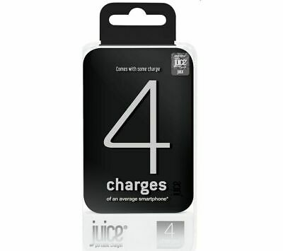 JUICE 3 Portable Phone/Tablet Charger - Black 12000 MAh NEW! • 23.95£