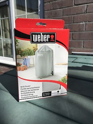 $ CDN51.92 • Buy Weber 18  47cm Charcoal BBQ Grill Cover Breathable Water Resistant 7175 Kettle