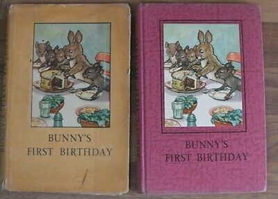 Ladybird Book,Bunny's First Birthday,2'6d,UN-Clipped D/J,Series 401,1st Edition • 19.99£