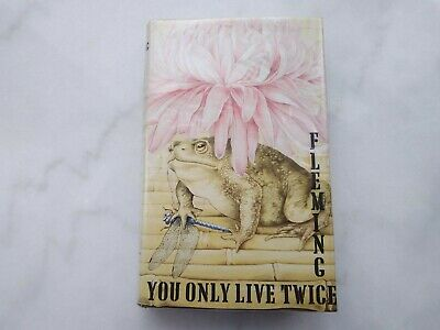 YOU ONLY LIVE TWICE By Ian Fleming Hardback 1975 Edition James Bond • 2.39£