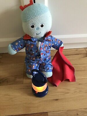 Night Time Iggle Piggle In Removable Pyjamas With Blanket & Working Night Light • 3.50£