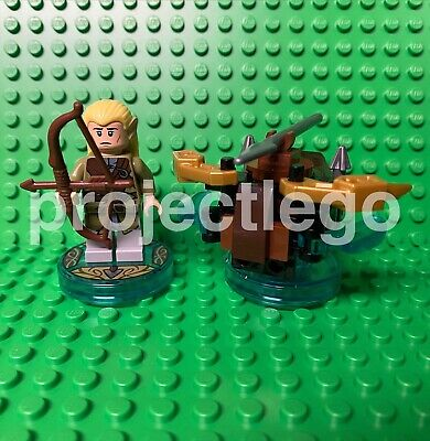 £8 • Buy Lego Dimensions 71219 - Lord Of The Rings LOTR Legolas Fun Pack - Used