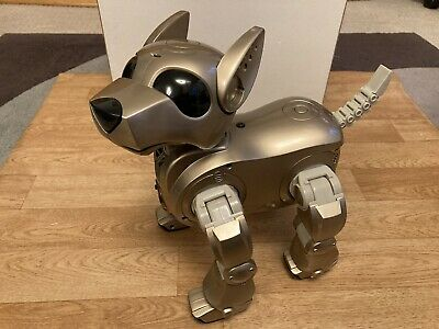 I-Cybie Robot Dog By Tiger Electronic - Not Working For Parts Or Repairs • 14.99£
