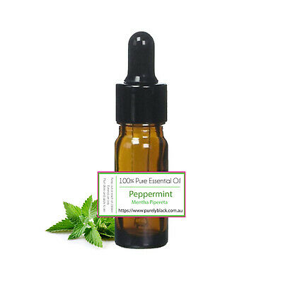 AU8.95 • Buy Pure Peppermint Essential Oil 10ml For Aromatherapy Diffuser Mint Menthol