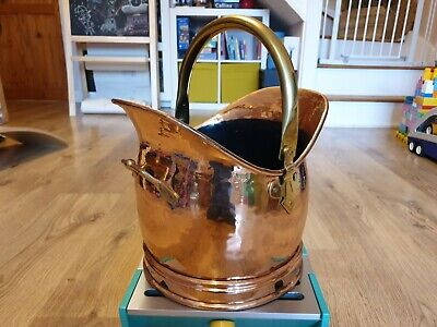 Copper Coal Scuttle Bucket  • 31£