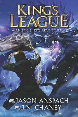 King's League By Jason Anspach (English) Paperback Book Free Shipping! • 21.25£