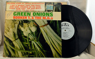 Booker T & The M.G.S. Green Onions Stax  Records 701 VG+ 1962 • 63.63£