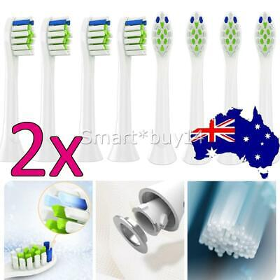 AU6.94 • Buy Optimal White Replacement Electric Toothbrush Heads For Philips Sonicare HX6066