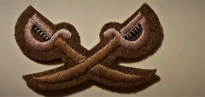 British Army PTI Physical Training Instructor Embroidered Trade Badge/Patch • 5£