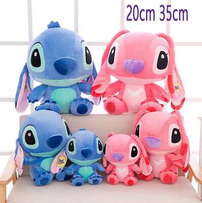 20CM 35CM Cute Lilo Stitch Plush Dolls Soft Toys Teddy Disney Figure Kid Gifts • 6.39£