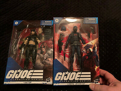 $ CDN115 • Buy Hasbro Gi Joe Classified Series Cobra Island  Zartan And Infantry 6   # 23 & 24