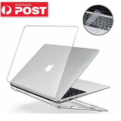 AU22.95 • Buy Macbook Air Pro Glossy Crystal Clear Case + Keyboard Cover 11  12'' 13  16  Inch