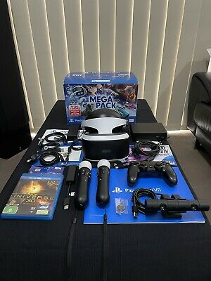 AU305 • Buy PSVR - PlayStation VR For PS4 & PS5 - Bundle With Extras - Barely Used - In VGC!