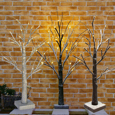 £11.99 • Buy 60CM 24LED Easter Tree Decorations With Led Light Up Twig Tree For Hanging Eggs