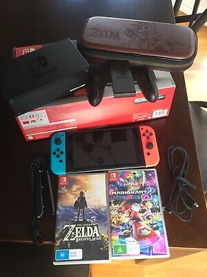 AU305 • Buy Nintendo Switch Console + Games + Case