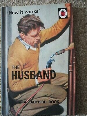Ladybird For Grown Ups How It Works The Husband Book 2015 Humour  • 0.49£
