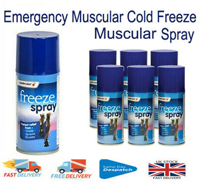 £4.29 • Buy Emergency Cold Freeze Muscle Pain Spray Deep Muscular Fast Relief Sports 150ml