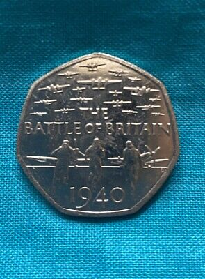 2015 Battle Of Britain 50p Fifty Pence Coin Circulated • 1.90£
