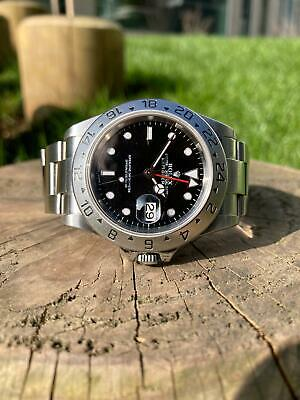 $ CDN11445.49 • Buy Rolex Explorer II 16570 Black Dial 2001 Box And Papers
