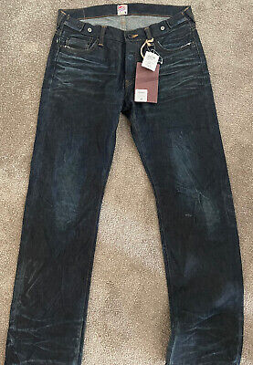 PRPS Japan Selvidge Jean. Size 34. New With Tags. Rrp395. Barracuda • 185£