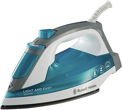 View Details Russell Hobbs Light & Easy Blue Steam Iron 23590 • 9.99£