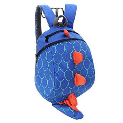Baby Toddler Reins Backpack Boys Cute Dinosaur Bag Kids Anti Lost Preschool Bag • 24.23£