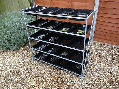 Heavy Duty Greenhouse Staging Racking • 54.99£