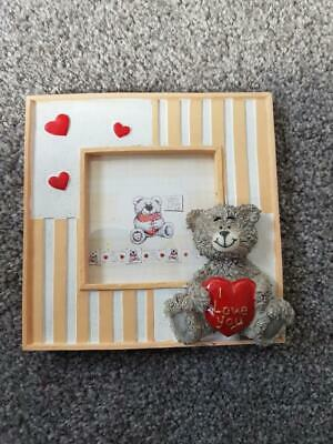 Me To You Teddy Style 'I Love You' Photo Frame. Used • 1£