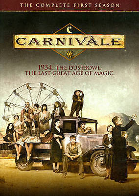 Carnivale - The Complete First Season (DVD, 2014, 4-Disc Set) • 14.30£