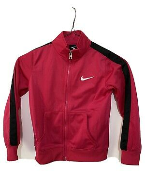 Girls Nike Track Top In Pink,size 5-6 Years • 6£