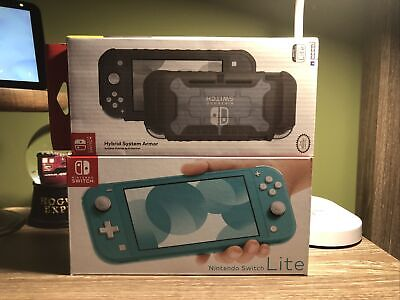 $ CDN136.70 • Buy Nintendo Switch HDHSBAZAA Lite - Turquoise. Includes Hybrid System Armor.