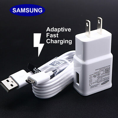$ CDN6.30 • Buy OEM Original Adaptive Rapid Fast Charger For Samsung Galaxy Note 4 5 S6 S7 EDGE