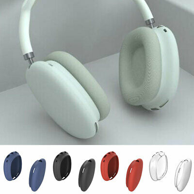 $ CDN5.89 • Buy Headphone Case Shell Cover Skin Protection Apple AirPods Max Shockproof Silicone