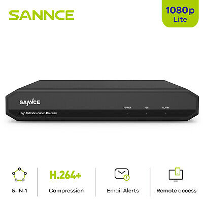 £45.99 • Buy SANNCE 4CH 5IN1 1080P H.264 DVR Video Recorder CCTV Home Camera Security System