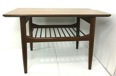 £180.38 • Buy 1960's E Gomme G-Plan Coffee Table With Magazine Rack Designed By Kofold Larsen