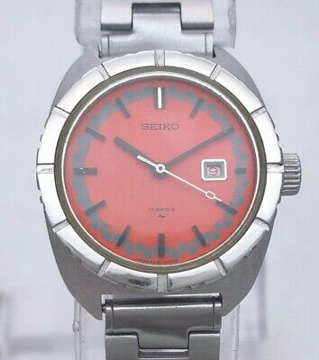 $ CDN6.93 • Buy Vintage Seiko Chorus Echo Rally Dial 17J 2518-0180 Manual Wind Women Diver Watch