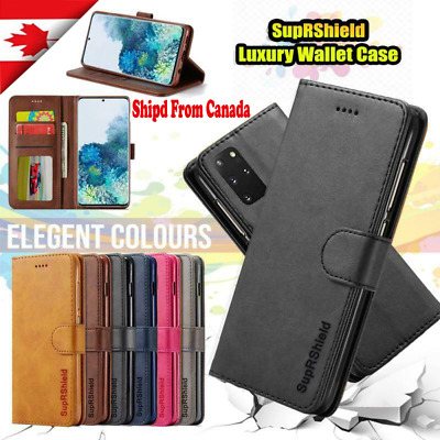 $ CDN8.49 • Buy For Samsung Galaxy S8 S9 S10 Plus S10E Wallet Case Card Pocket Flip Cover