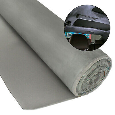$23.49 • Buy Suede Headliner Material Fabric Foam Backing Roof Sagging Replace 54 X60  Gray