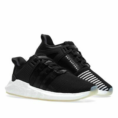 AU89.57 • Buy Adidas Mens Originals  EQT Support Black Trainers Sneakers Running Shoes