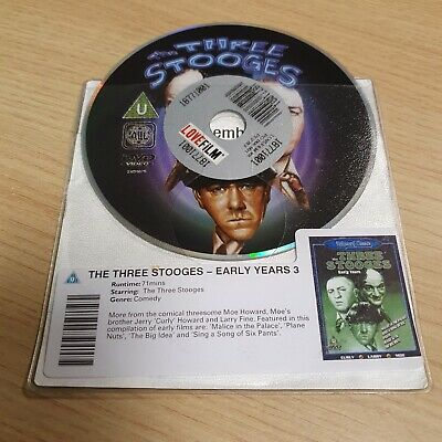 £2 • Buy DISC ONLY - The Three Stooges - Early Years 3 DVD